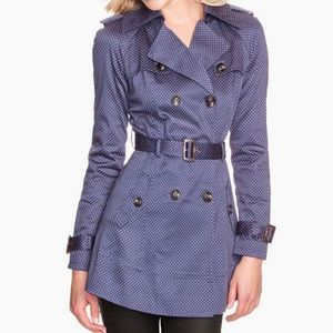 Guess Belted Trench Coat - Polka Dot